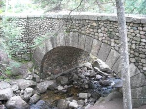 The only Carriage Road Bridge made from cobblestones