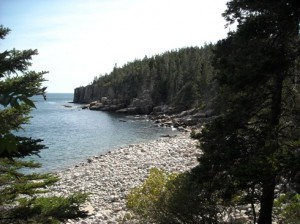 Acadia National Park's Shore Path Veiw