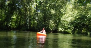 Tubing on the Broad River
