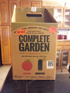 "The ""Complete Garden"" kit"